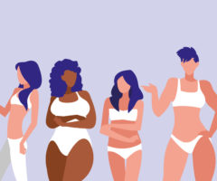 If you're waiting to lose weight to wear lingerie, read this!!