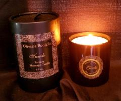 Tuxedo Massage Candle By Olivia's Boudoir Review